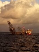Contract terminated for sunken rig working for ConocoPhillips off Malaysia