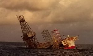 Velesto Energy's Naga-7 jack-up drilling rig sinks off Malaysia