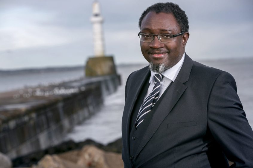 Dr Ollie Folayan is chair of Aberdeen-based AFBE-UK Scotland