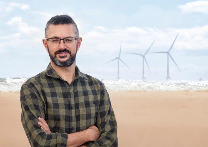 Tavis Potts, head of Aberdeen University's new Centre for Energy Transition.