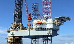 The Valaris JU-115 jack-up drilling rig