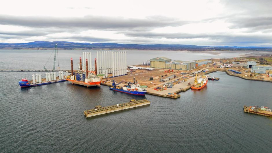 Port of Nigg power-to-x