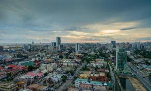 View across Lagos