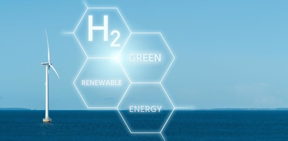 Saltwater electrolysis is an option for green hydrogen.