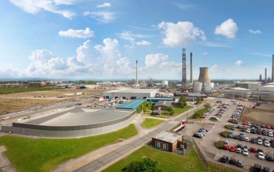 Natural gas would be converted into low carbon hydrogen at Stanlow Refinery from 2025 under the NyNet partners' plans.