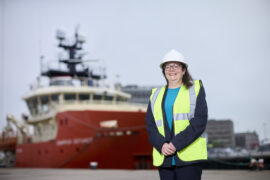 INWED 2021: Michelle's up for the challenge as she continues to climb career ladder