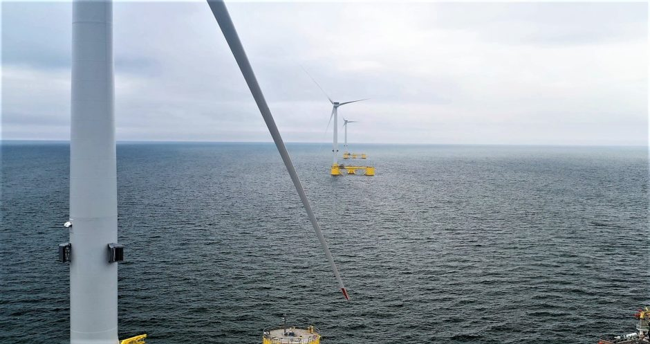 Other floating offshore wind developments in Scotland include the Kincardine Offshore Wind Farm