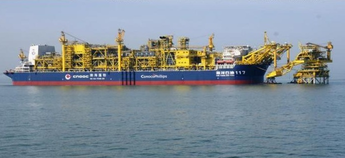 Oil carrier connects to offloading system