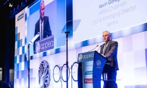 Kevin Gallagher - Santos CEO. APPEA, Perth. Supplied by APPEA Date; 15/06/2021