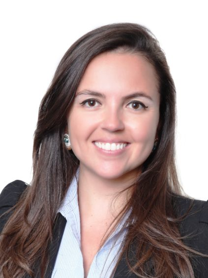 Elisa Cataldo is a senior consultant with DNV with an MBA and a Master's  Degree in Environmental and Energy Economics
