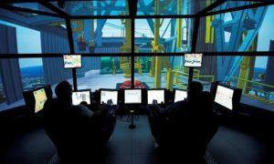 Maersk Training's drilling simulator.