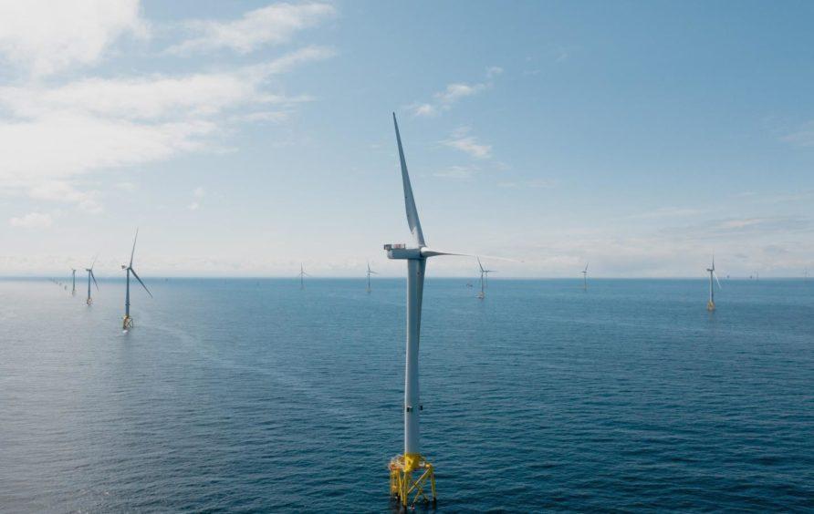 Moray East wind farm. Supplied by Brett Currie Photo/Video - https://www.brettcurrie.com/