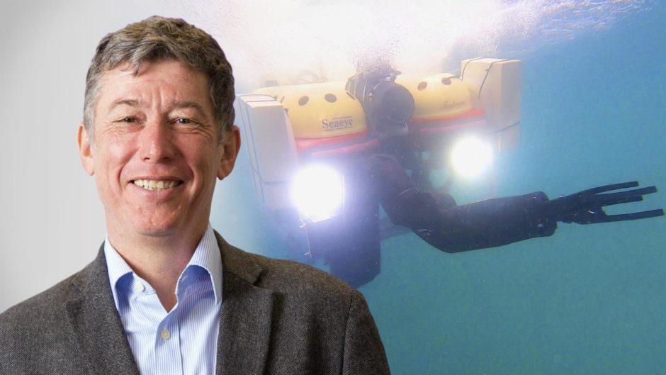 Yvan Petillot, professor of robotics and autonomous systems at Heriot-Watt University.