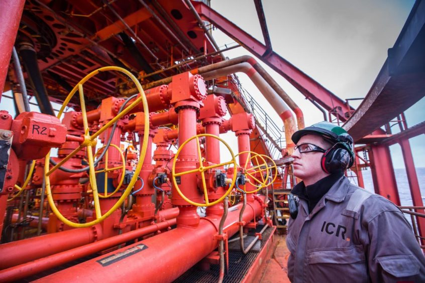 """ICR said its core UK oil and gas market remained """"challenging""""."""