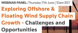 Reuters Events free webinar: Exploring offshore & floating wind supply chain growth