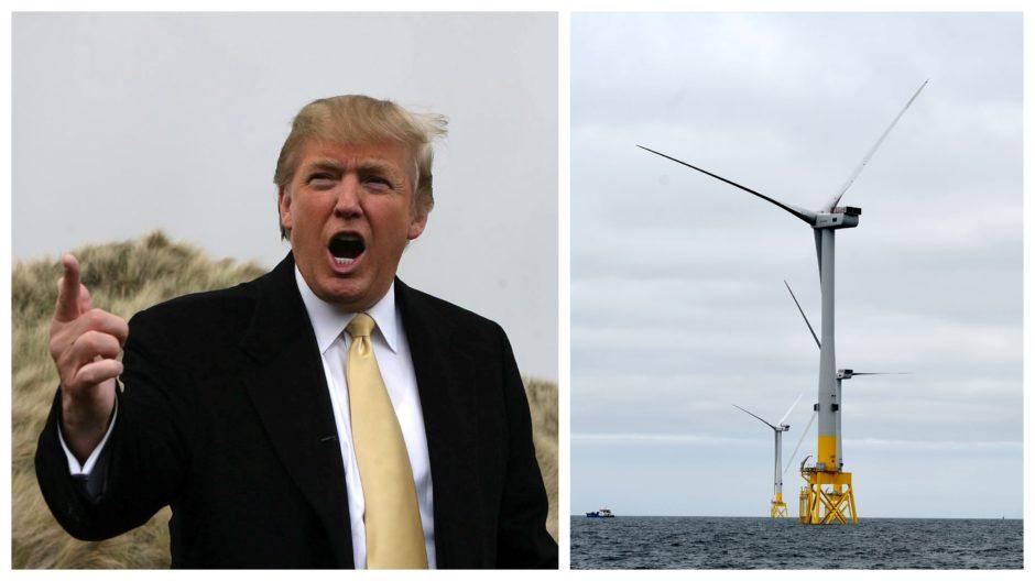 Aberdeen Uni wind scenic