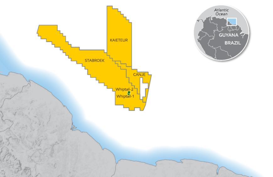 ExxonMobil Whiptail Guyana