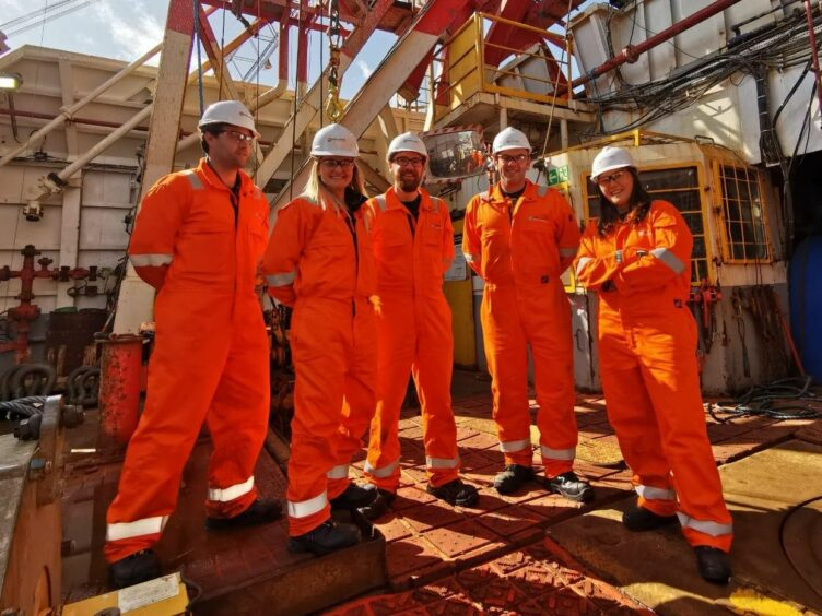 Members of the production team from Marvel's 'Black Widow' onboard the Well-Safe Guardian