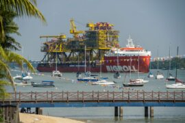Sailaway: Tyra topsides leave Singapore for TotalEnergies North Sea project