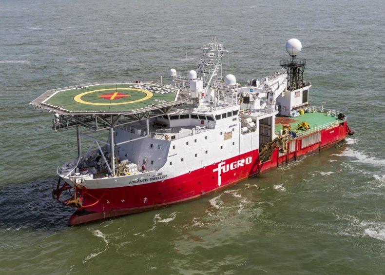 Fugro's Atlantis Dweller vessel.