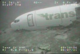 Crashed cargo plane located by ROV off Hawaii