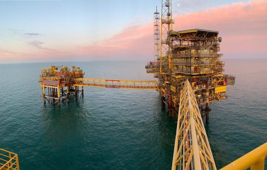 Shell's Clipper platform