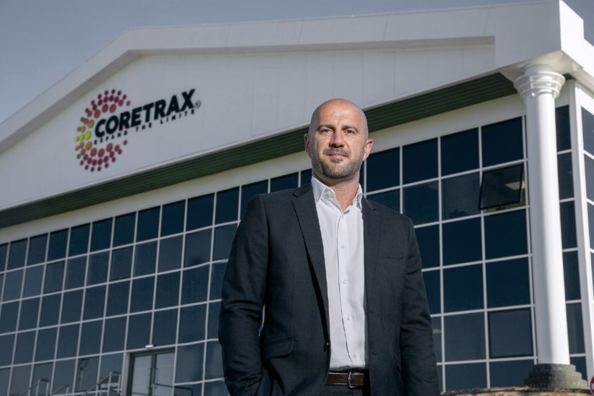 Coretrax's newly appointed EARC (Europe, Africa, Russia and Caspian) regional manager, Keith Bradford, at the firm's new Aberdeen headquarters.