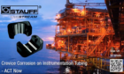 STAUFF Offer a proven solution to reduce crevice corrosion at pipe support on instrumentation tubing.
