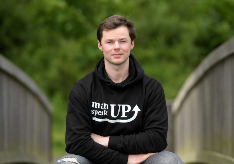 Mike Scotland, founder of manUP speakUP.