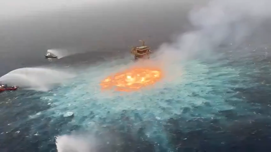 gulf of mexico fire pemex