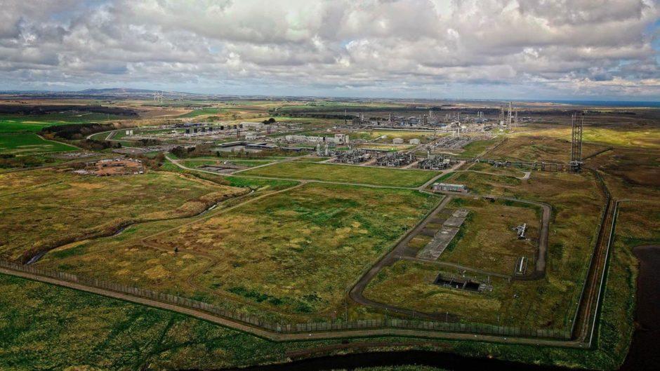 St Fergus gas terminal near Peterhead