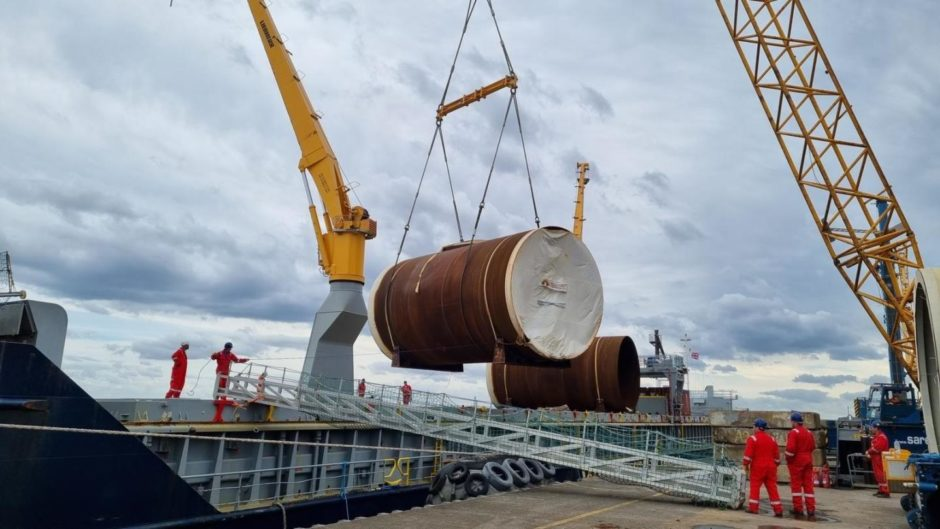 InfraStrata bagged a contract to fabricate eight turbine jackets for NnG in April