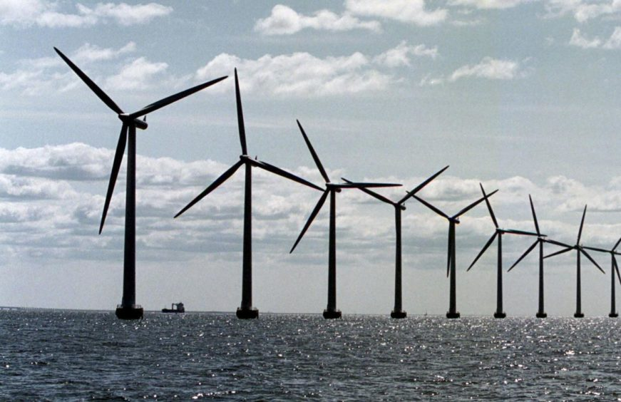 Giant North Sea Wind Farm. Getty Images/AFP