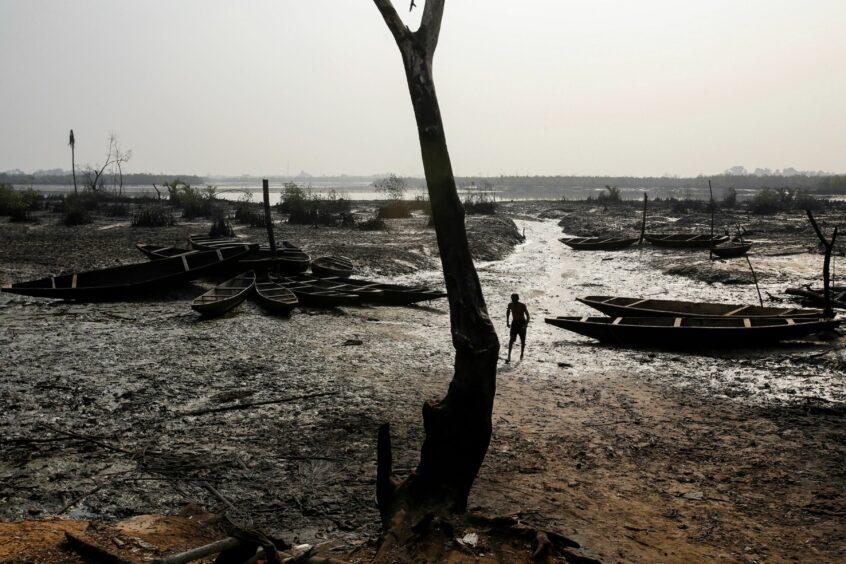 Shell Nigeria oil