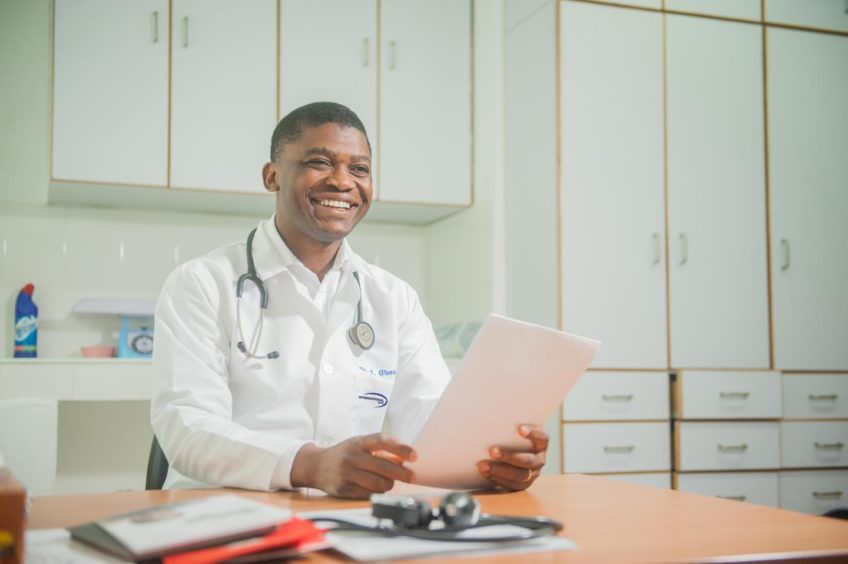 An International SOS healthcare specialist.