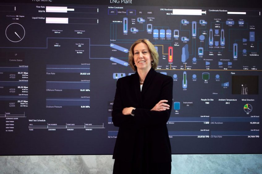 Woodside chief executive Meg O'Neill