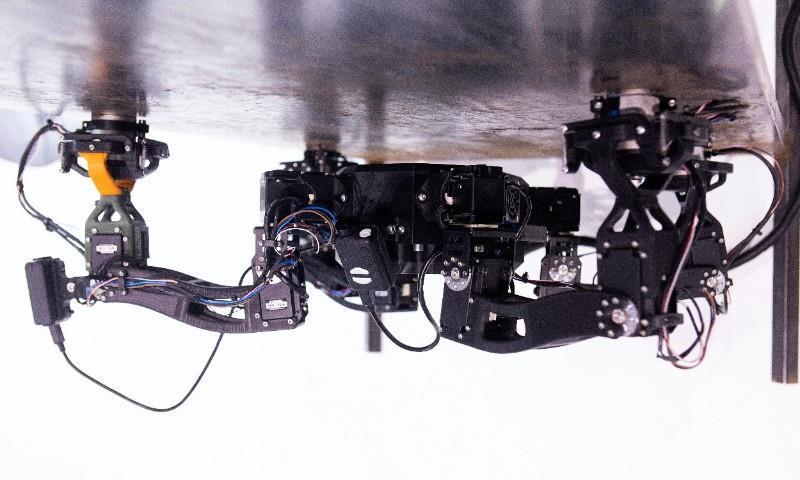 Nexxis' robotic inspection device.