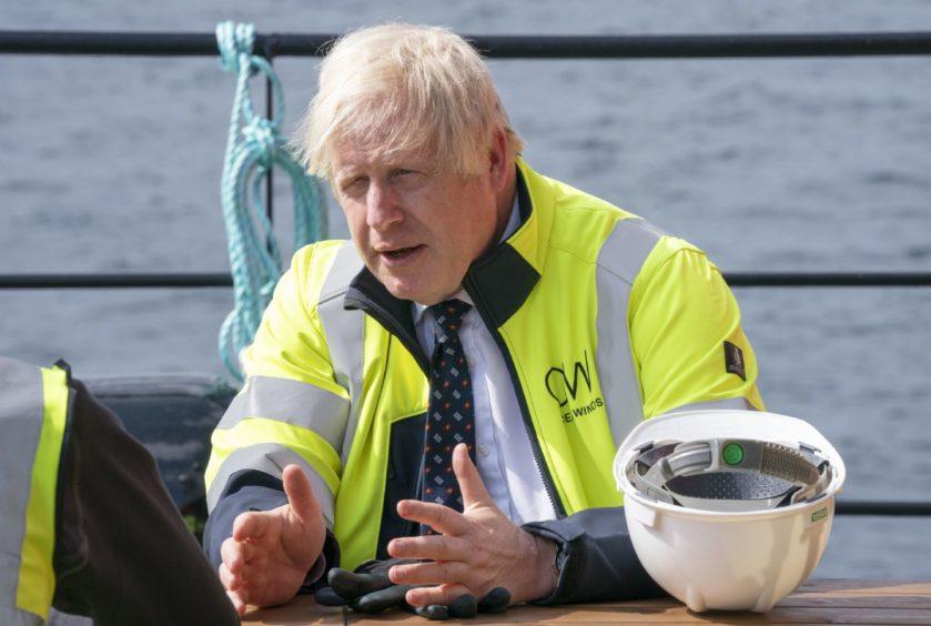 Boris Johnson Acorn CCUS