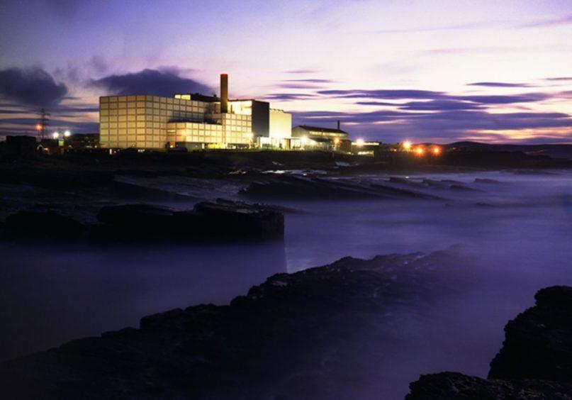 The reactor at Dounreay.
