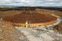 Viking wind farm generation