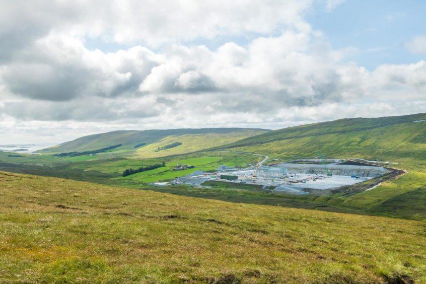 Shetland North Sea green