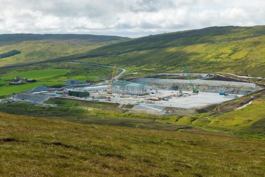 Shetland HVDC link ordnance