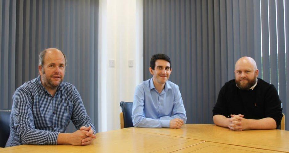 Euan Penny, Richard Henderson, Paul Milne, of James Fisher Offshore