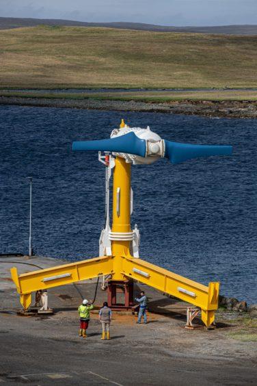 Nova Innovation tidal turbines