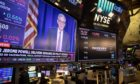 The markets are waiting for Jerome Powell, head of the Fed, to speak. Bloomberg.