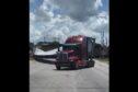 wind turbine freight train