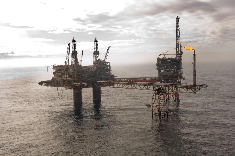 north sea methane
