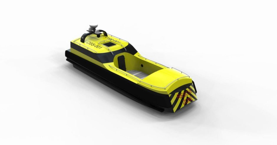 The vessel has been designed ?casualty first?, with accessible features to address limited mobility challenges