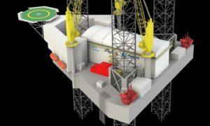 jack-up offshore hydrogen