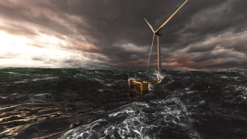 Floating wind partnership